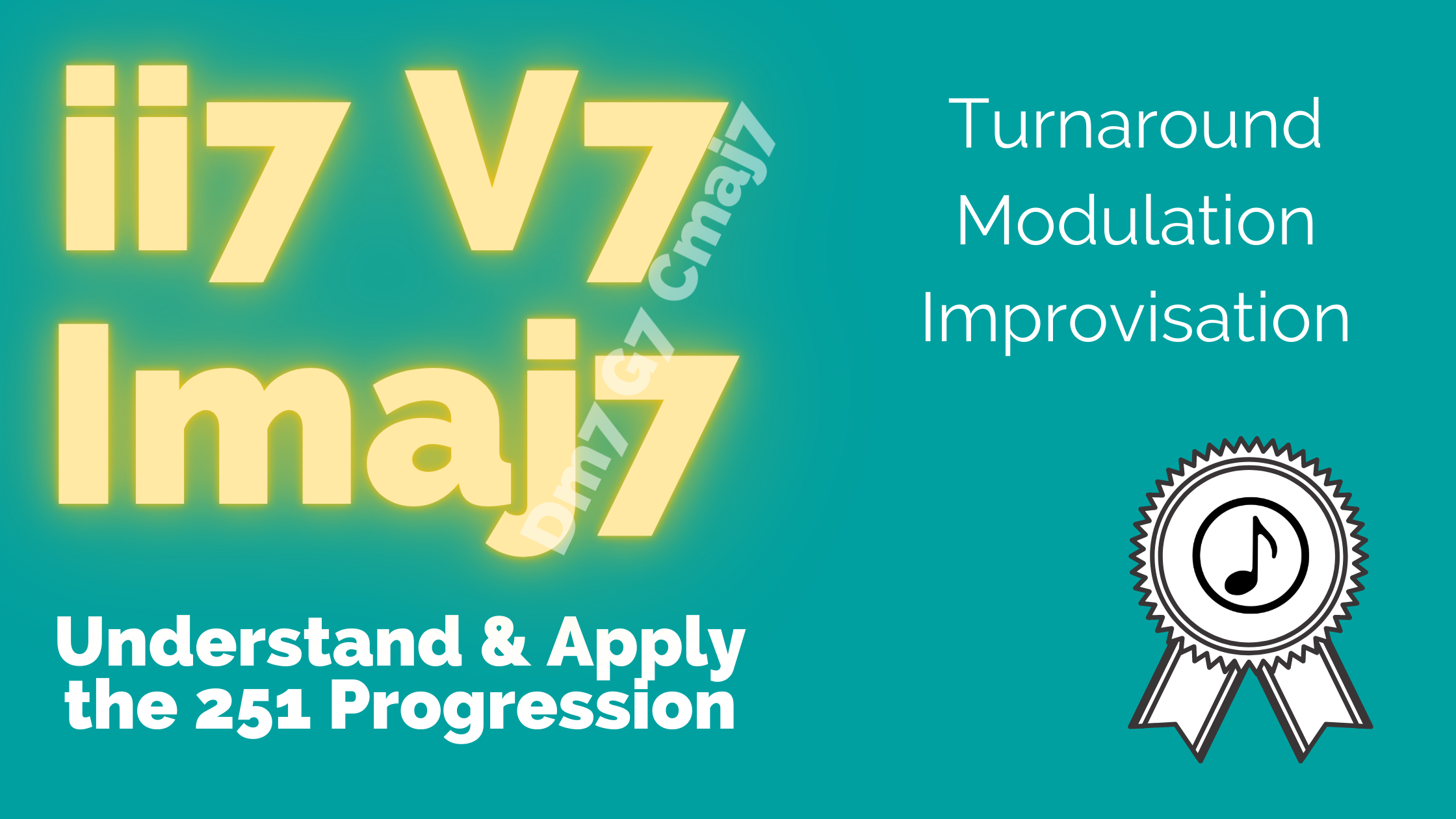 The 251 turnaround (aka ii-V-I)
